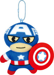 Marvel Captain America Mascot Keychain