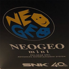 SNK NeoGeo Mini Screen Protector