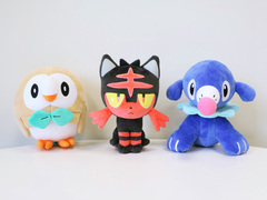 Pokemon Centre Sun & Moon Plush