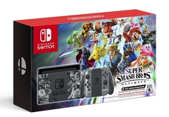 Nintendo Switch Console System Bundle w/ Super Smash Bros. Ultimate