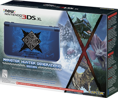 New 3DS XL Console (Monster Hunter Generations)