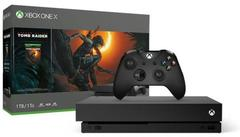 Xbox One X w/ Shadow Of The Tomb Raider Bundle