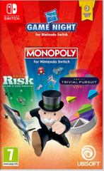 Hasbro Game Night (Risk, Trivial Pursuit & Monopoly)