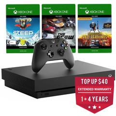 Xbox One X Console w/ 3 Games (1TB)