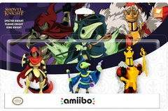 amiibo - Shovel Knight: Treasure Trove Figures (3-Pack)