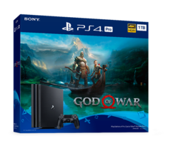 PlayStation 4 Pro Console God of War Bundle