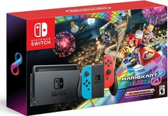 Nintendo Switch Console System Bundle w/ Mario Kart 8 Deluxe