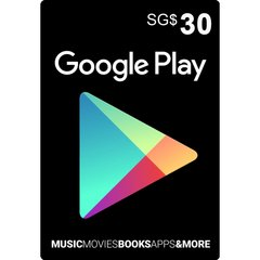 Google Playstore Gift Card (SGD)