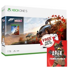 Xbox One S Forza Horizon 4 Bundle w/ Free Apex Legends Founder's Pack Code