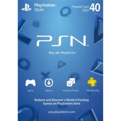 Playstation Network Card (SGD40)