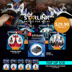 Starlink 4 Ships Bundle