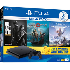 Playstation 4 Slim Mega Pack Bundle