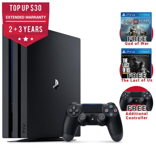 Playstation 4 Pro God Of War The Last Of Us Remastered Bundle