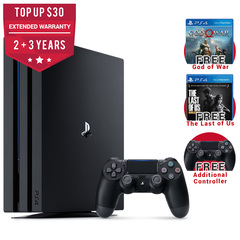 Playstation 4 Pro God of War / The Last of Us Remastered Bundle