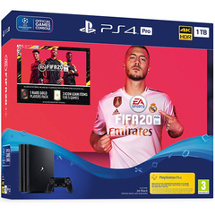 PlayStation 4 Pro Console FIFA 20 Bundle Pack