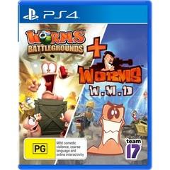Worms Battleground + Worms WMD Double Pack