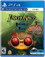 Psychonauts in the Rhombus Rain (VR Required)