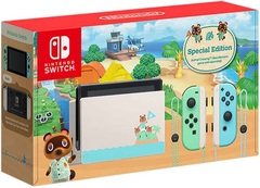 Nintendo Switch Console System (XKJ) (Animal Crossing: New Horizons) with Switch Labo Robot Kit Bundle