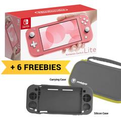 Nintendo Switch Lite Console Bundle (6 Free items)