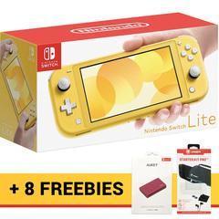 Nintendo Switch Lite Console Bundle (8 Free items)