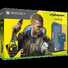 Xbox One X Cyberpunk 2077 Limited Edition Bundle