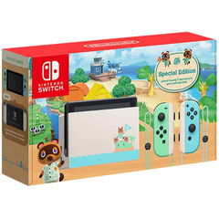 Nintendo Switch Console System Gen 2 Agent Warranty (Animal Crossing)
