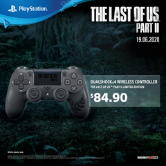 PlayStation 4 Dualshock 4 Controller - The Last of Us Part II Limited edition