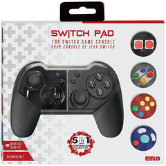 Emio 5-in-1 Switch Pad for Nintendo Switch