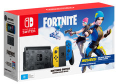 Nintendo Switch Fortnite Console System Bundle (Store Warranty)