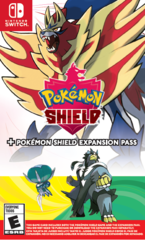 Pokemon Shield + Pokemon Shield Expansion Pass