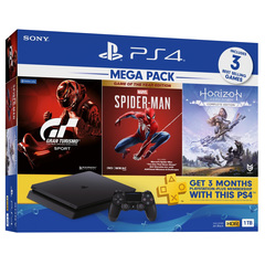 PlayStation 4 Slim Mega Pack 3 Bundle (1TB)