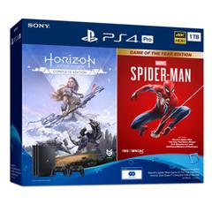 PlayStation 4 Pro Marvel's Spider-Man GOTY / Horizon Zero Dawn Complete Edition Bundle