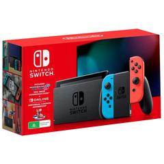 Nintendo Switch Console Gen 2 Mario Kart 8 Deluxe Bundle (Store Warranty)