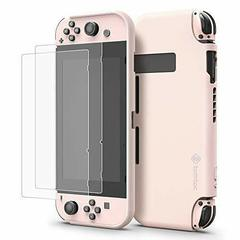 Tomtoc Nintendo Switch Silicone Case /w Free Tempered Glass Screen Protector