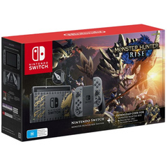 Nintendo Switch Console Gen 2 Monster Hunter Rise Edition (Store Warranty)