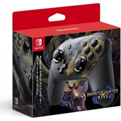 Nintendo Switch Pro Controller [Monster Hunter Rise]