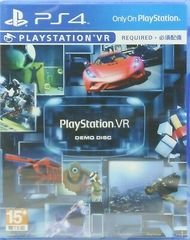 Playstation VR Demo Disc (VR Required)