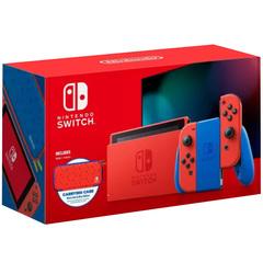Nintendo Switch Console Gen 2 MARIO RED & BLUE Edition (Agent Warranty)