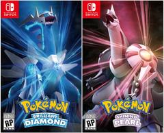 Pokemon Brilliant Diamond and Pokemon Shining Pearl Double Pack