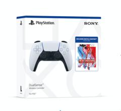 PlayStation DualSense NBA2K22 Jumpstart Bundle