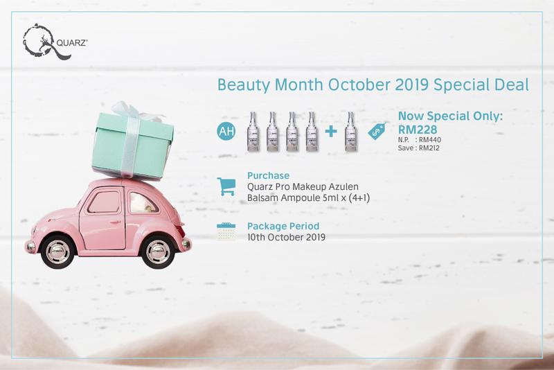 Beauty month october 2019 special deal ah