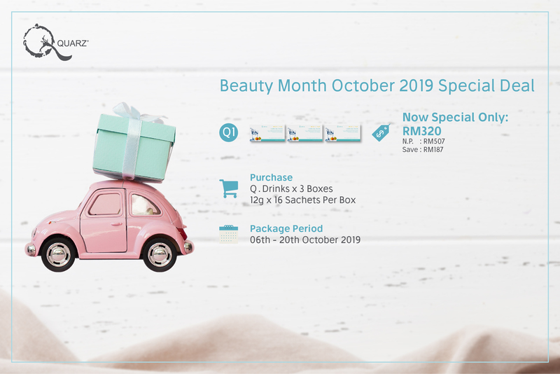 Beauty month october 2019 special deal q1