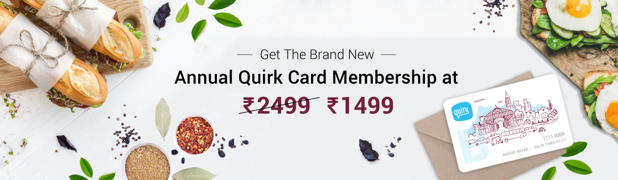 Quirk Card Annual Subscription