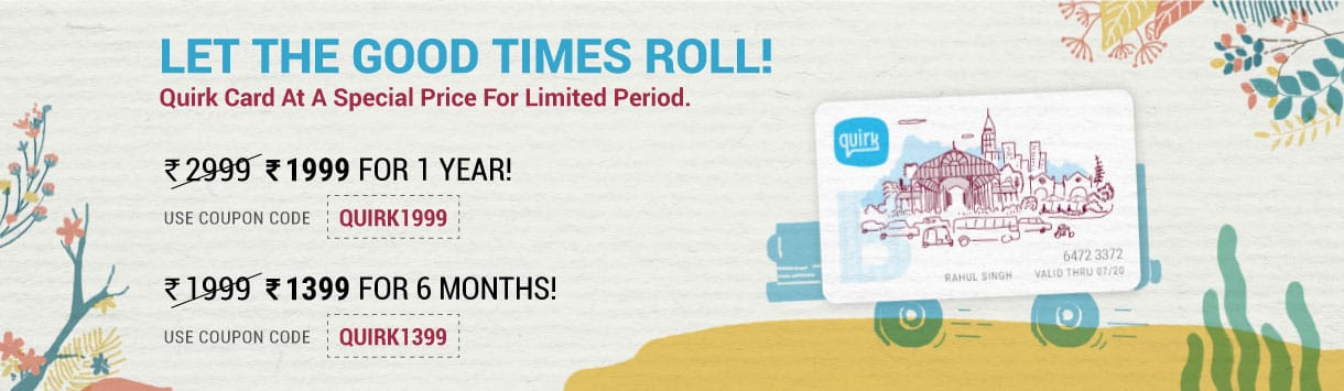 Quirk New Year Promotion