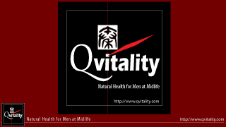 Qvitality: Natural Health for Men at Midlife