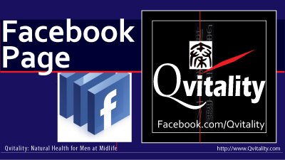 Qvitality Facebook Page: Natural Health for Men at Midlife