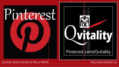 Qvitality Pinterest Profile: Natural Health for Men at Midlife
