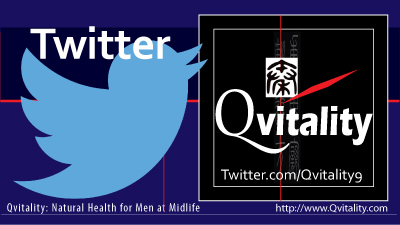 Qvitality Twitter: Natural Health for Men at Midlife