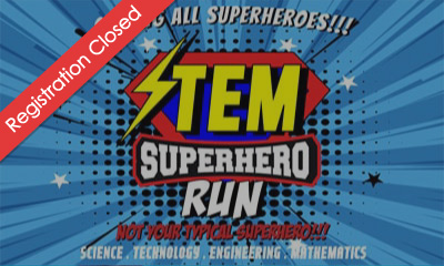 STEM Super Hero Run 2019