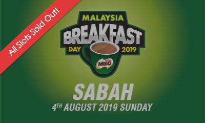 Malaysia Breakfast Day Run Sabah 2019